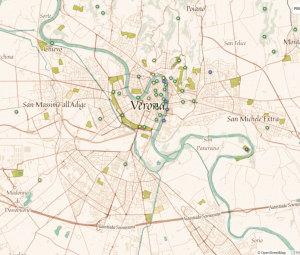 mappe per il geocaching